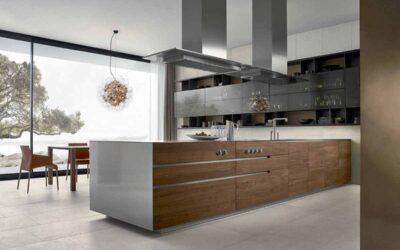 Cocinas de diseño con isla o península